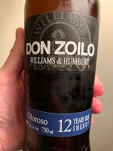 Wine Of The Week: Don Zoilo Williams & Humbert Oloroso Sherry